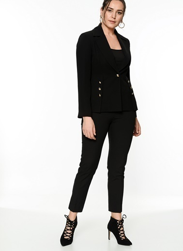 Selen Blazer Ceket Siyah